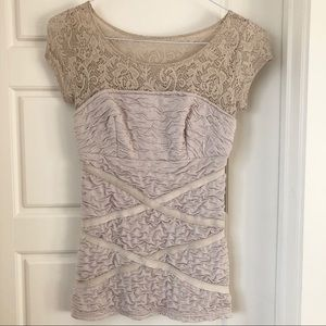 JUB D'ORANGE Lace Top
